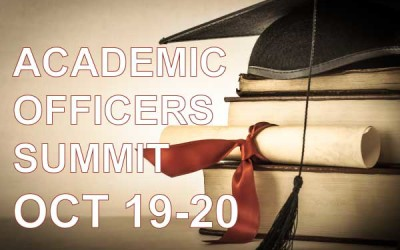 OCT 19-20 – Academic Officers Summit