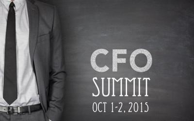 OCT 1-2 – CFO Summit