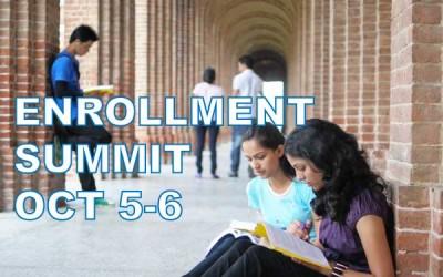 OCT 5-6 – Enrollment Summit