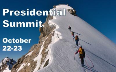 OCT 22-23 – Presidential Summit
