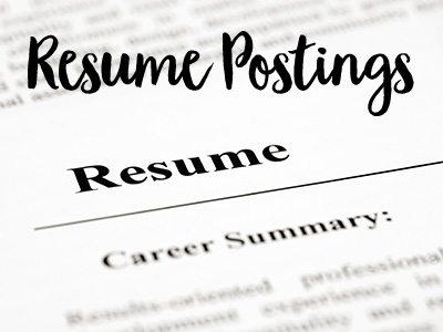 Resume Postings