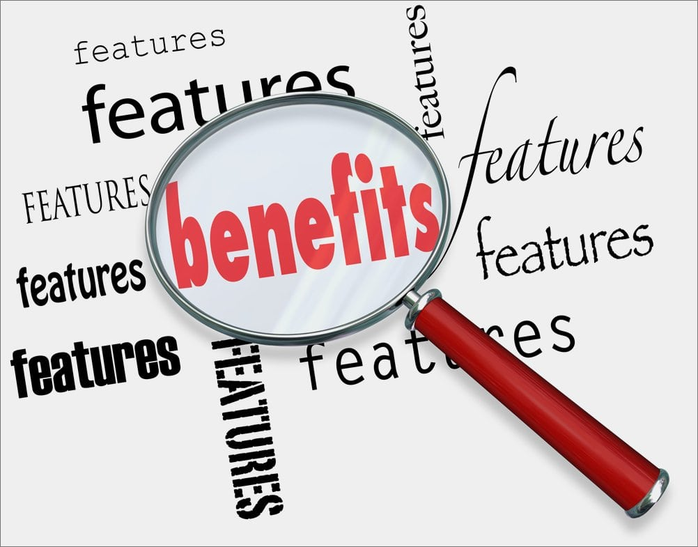 features to benefits
