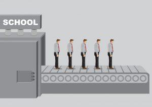 school conveyor belt